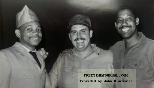 """On the set of """"A Soldier's Play"""""""