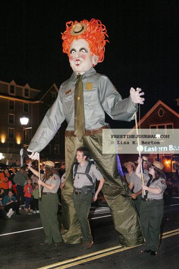 The parade theme was Hocus Pocus