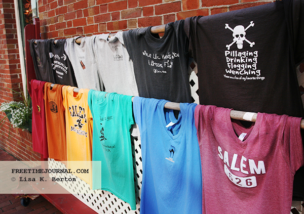 There's no shortage of t-shirts