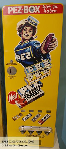 Antique PEZ candy machine